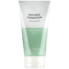 Пенка для умывания себум-контроль The Saem Natural Condition Cleansing Foam Sebum Controlling 150мл