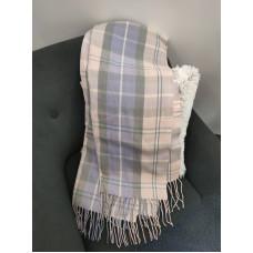 Теплый женский кашемировый шарф Line-B1746