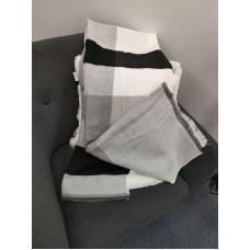 Теплый женский кашемировый шарф Line-B1748