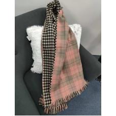 Теплый женский кашемировый шарф Line-B1751