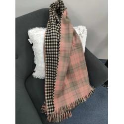 Теплий жіночий кашеміровий шарф Line-B1751