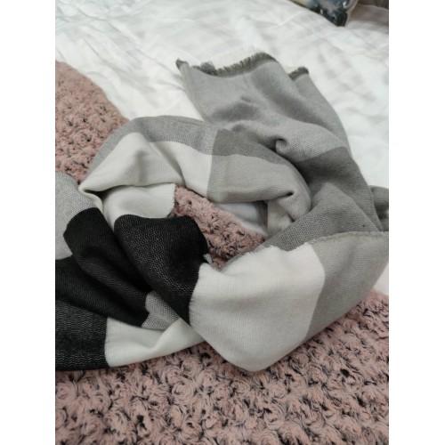 Теплий жіночий кашеміровий шарф Line-B1752