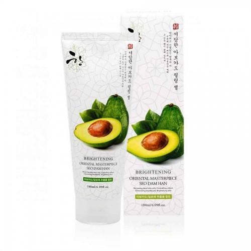 Пілінг-гель з екстрактом авокадо 3W Clinic Seo Dam Han Avocado Peeling Gel 180мл