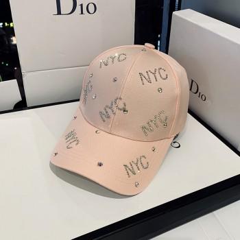 Женская кепка - бейсболка - NYC Diamond H1031 Pink