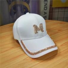 Женская кепка - бейсболка - M Diamond H1011 White