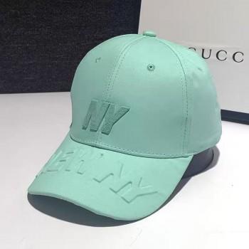 Женская кепка - бейсболка - NY 3D H1090 Aqua Green
