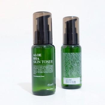 Тонер для лиця з алое і саліциловою кислотою Benton Aloe BHA Skin Toner 30мл