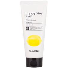 Пенка для умывания с экстрактом лимона Tony Moly Clean Dew Foam Cleanser Lemon 180 мл