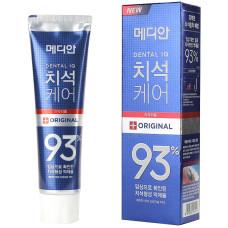 Отбеливающая зубная паста для удаления налета со вкусом мяты Median Toothpaste Original