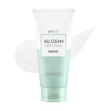 Очищающая пенка для лица Heimish All Clean Green Foam pH 5.5 Sample 30 ml