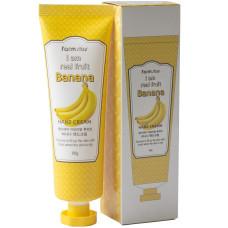 Крем для рук с экстрактом банана FarmStay I Am Real Fruit Banana Hand Cream 100ml