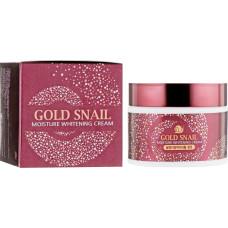 Крем с муцином улитки Enough Gold Snail Moisture Whitening Cream 50ml