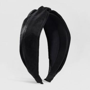 Обруч чалма F2806 Black