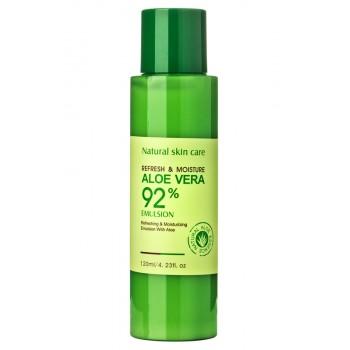 Увлажняющая эмульсия с алоэ вера Bioaqua Refresh & Moisture Aloe Vera 92% Emulsion 120 мл