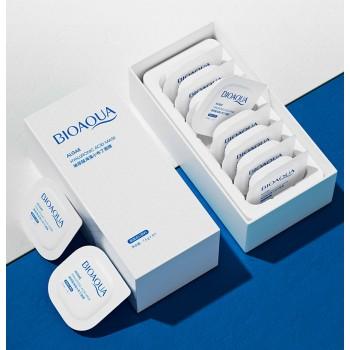 Маска для лица с экстрактам гиалуроновой кислоты Bioaqua Algae Hyaluronic Acid Mask BQY22699