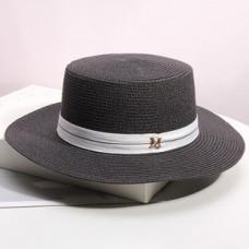 Женская соломенная шляпа M A7655871 - Black