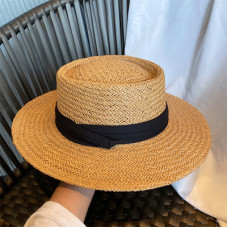 Женская соломенная шляпа A64548871-1 - Beige