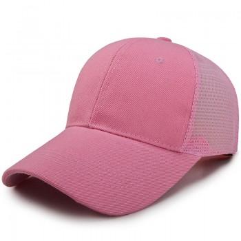 Кепка - бейсболка - Simple A-176 Pink унисекс