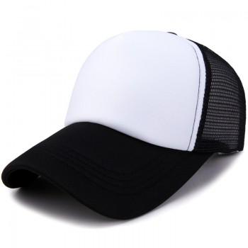 Кепка - бейсболка - Simple A-177 Black&White унисекс