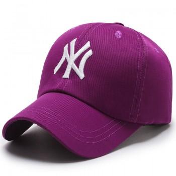 Кепка - бейсболка - NY R-002 Violet унисекс
