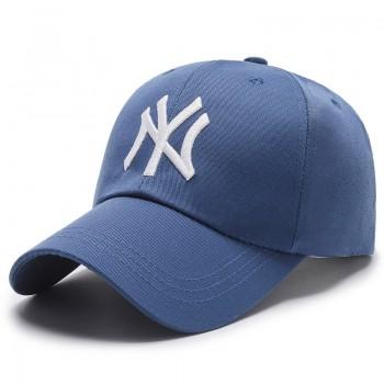 Кепка - бейсболка - NY R-002 Blue унисекс