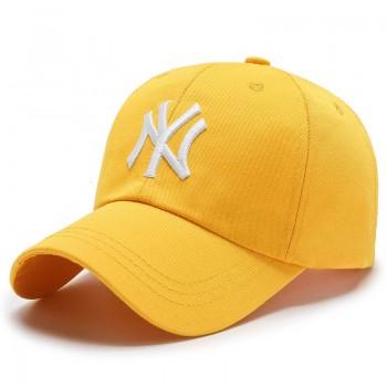 Кепка - бейсболка - NY R-002 Yellow унисекс