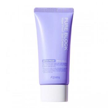 Водостойкий солнцезащитный крем для лица A'pieu Pure Block Water Proof SPF50+ PA+++