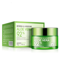 Освежающий крем-гель для лица с алоэ вера Bioaqua Aloe Vera Moisturizing Cream