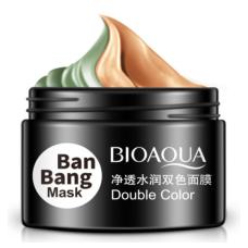 Двойная маска для очищения Т-зоны/подтяжки овала BIOAQUA Double Color BanBang Mask
