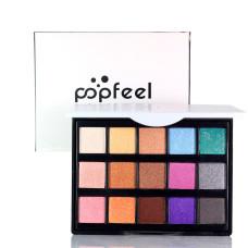 Палетка водостойких теней для глаз POPFEEL Perfect Eye Shadow palette EP15 #2