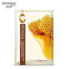 Тканевая маска для лица с экстрактом меда Bioaqua Honey Nourishing Mask