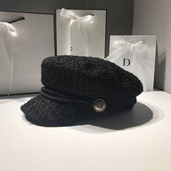 Женская кепка - кепи Black chrm-B-34