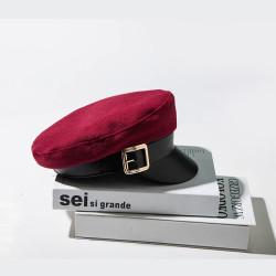 Женская кепка - кепи RED chrm-MX043 Бордовый