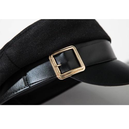 Женская кепка - кепи BLACK chrm-MX044 Черный