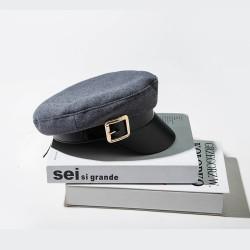 Женская кепка - кепи GREY chrm-MX045 Серая