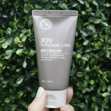 Маска для носа The Face Shop Jeju Volcanic Lava Peel-Off Clay Nose Mask 50г.