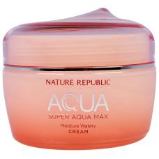 Зволожуючий крем-гель для комбінованої шкіри Nature Republic Super Aqua Max Combination Watery Cream 80 мл