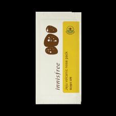 Пластырь с вулканической глиной от черных точек Innisfree Jeju Volcanic nose pack