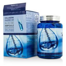 Ампульная сыворотка с коллагеном и гиалуроновой кислотой FARM STAY Collagen & Hyaluronic Acid All-In-One Ampoule 250 мл