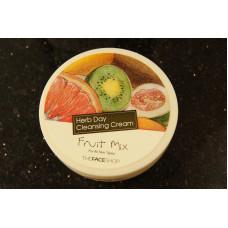 """Крем для зняття макіяжу """"Фруктовий мікс"""" The Face Shop Herb Day Cleansing Cream Fruit Mix"""
