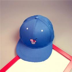 Стильная женская кепка - бейсболка ICE CREAM  Blue