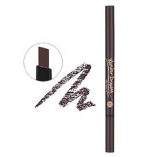 Автоматичний олівець для брів з щіточкою Holika Holika Wonder Drawing 24hr Auto Eyebrow №2 Dark Brown