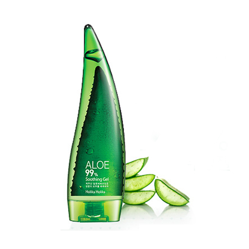 Зволожуючий гель з алое 99% HOLIKA HOLIKA aloe 99% soothing gel, 55мл