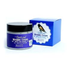 Антивозрастной крем с экстрактом ласточкиного гнезда JIGOTT Bird`s Nest Wrinkle Cream 70 мл