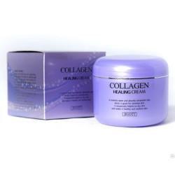 Ночной питательный крем с коллагеном JIGOTT Collagen Healing Cream 100 мл