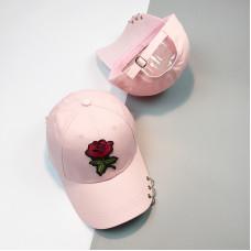 Стильна жіноча кепка - бейсболка ROSE - Pink