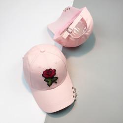 Стильная женская кепка - бейсболка ROSE  - Pink