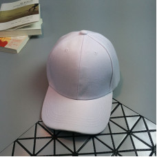 Стильна жіноча кепка - бейсболка NO LABEL White