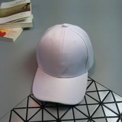 Стильная женская кепка - бейсболка NO LABEL White