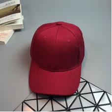 Стильна жіноча кепка - бейсболка NO LABEL Red
